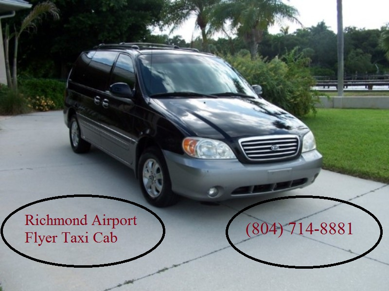 Richmond Airport Flyer Taxi Cab offers efficient, reliable Richmond