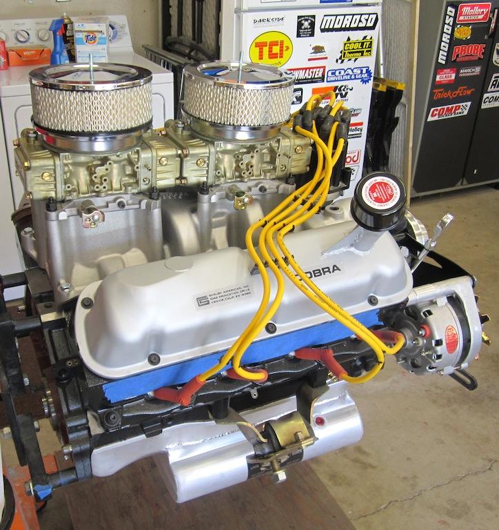 Dual quads 427W ? - FFCars com : Factory Five Racing
