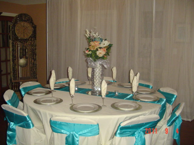 Tablecloth | Cloth Napkins | Chair Covers | Placemats | Table Runner