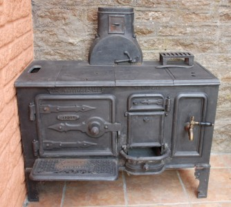 Back–to–back house range cooker– photo 2, click to enlarge