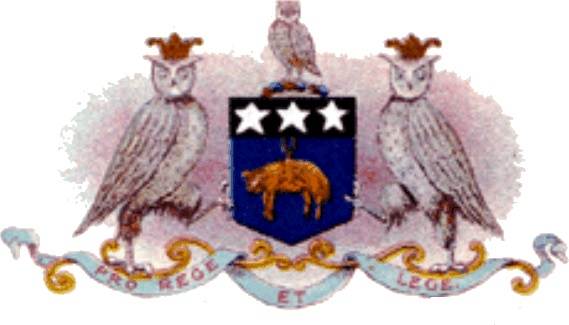 1st Leeds coat of arms, click to enlarge