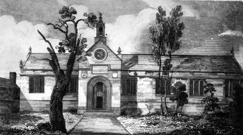 Leeds Grammar School – Woodhouse Moor site–photo1, click to enlarge