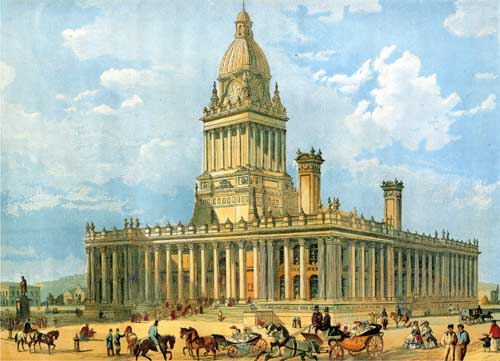 Leeds Town Hall– photo 1, click to enlarge