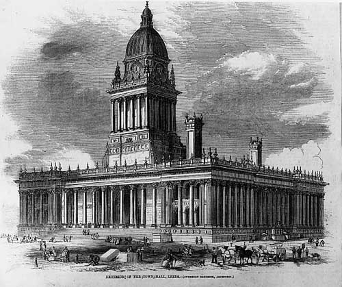 Leeds Town Hall– photo 3, click to enlarge