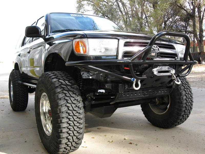 Rear Disc Brake Conversion Writeup 121582 likewise Toyota Truck Starter Location in addition Toyota Starter Location furthermore 468065 in addition Addicted Offroad Toyota Winch Bumper Sale 224089. on toyota t100 starter location