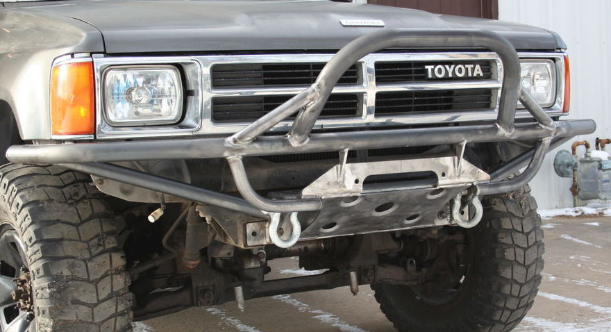 Addicted Offroads New Toyota Winch Bumper 215310 on 2005 toyota 4runner starter location