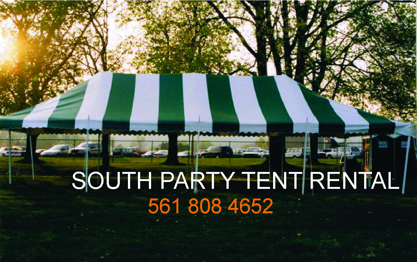 South Party Tent Rental Tent Rental Chair Table West