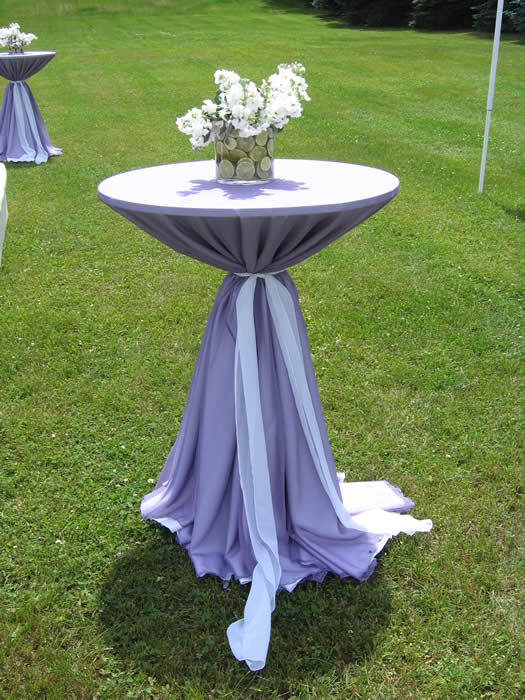Nice High Top Table Linens Part - 1: TABLE RENTAL, ALQUILER DE MESAS,