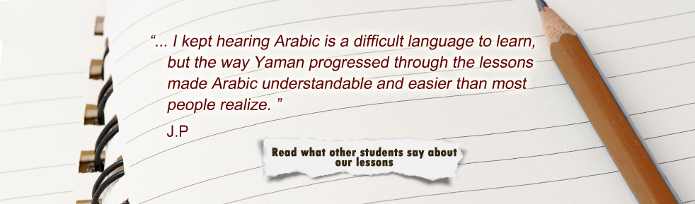 what people think about Everyday Arabic teachers