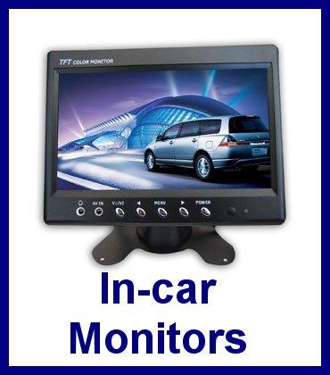 In-car monitors