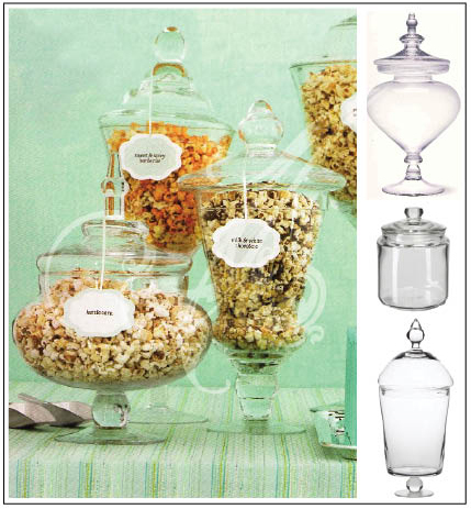 How about a Popcorn buffet different flavors yum
