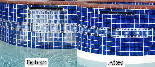 swimming pool tile cleaning service Lakewood, CA