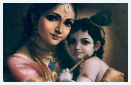 Krishna and Mother