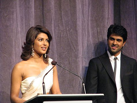 Priyanka Chopra and Harman Baweja in Toronto - TIFF 2009