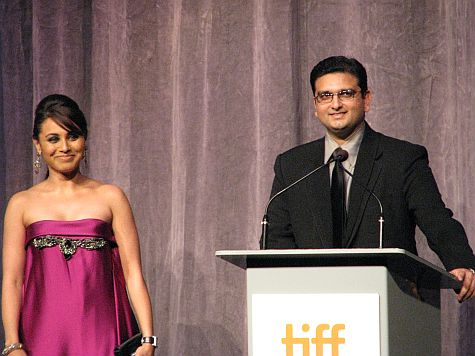 Rani Mukherjee and Anurag Singh in Toronto