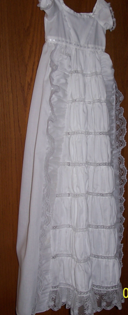 Custom made Heirloom Christening Gowns, special occasions